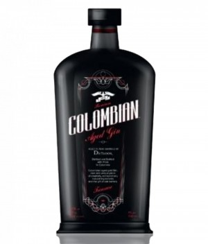 Colombian treasure gin