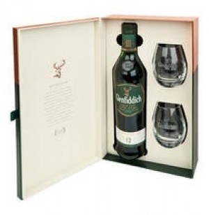 Glenfiddich 12 years Single Malt Scotch Whisky  + 2 glazen