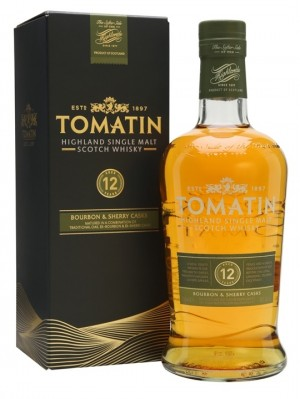 Tomatin -12y - Bourbon & sherry casks